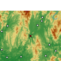 Nearby Forecast Locations - Yongfu - Χάρτης