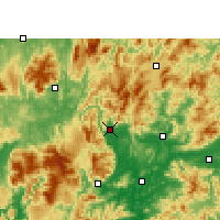 Nearby Forecast Locations - Lechang - Χάρτης