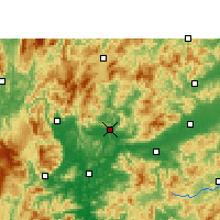 Nearby Forecast Locations - Renhua - Χάρτης