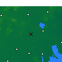 Nearby Forecast Locations - Suining/JSU - Χάρτης