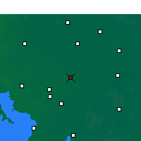 Nearby Forecast Locations - Lianshui - Χάρτης