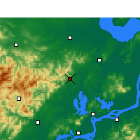 Nearby Forecast Locations - Tongcheng/ANH - ������