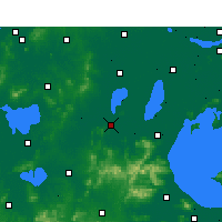 Nearby Forecast Locations - Liyang - Χάρτης