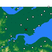Nearby Forecast Locations - Haining - Χάρτης
