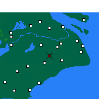 Nearby Forecast Locations - Songjiang - Χάρτης