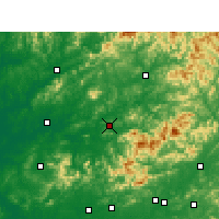 Nearby Forecast Locations - Dexing - Χάρτης