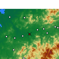 Nearby Forecast Locations - Guixi - Χάρτης