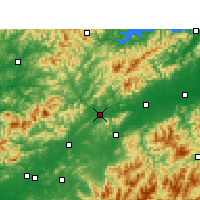 Nearby Forecast Locations - Changshan - Χάρτης