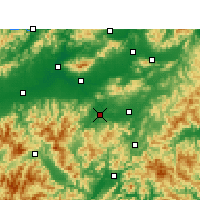 Nearby Forecast Locations - Wuyi/ZHJ - ������