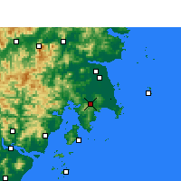 Nearby Forecast Locations - Wenling - Χάρτης