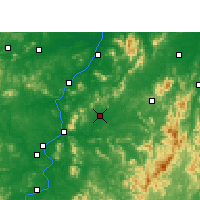 Nearby Forecast Locations - Yongfeng - Χάρτης