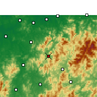 Nearby Forecast Locations - Zixi - Χάρτης