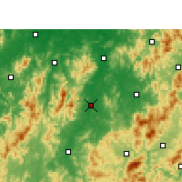 Nearby Forecast Locations - Nanfeng - Χάρτης