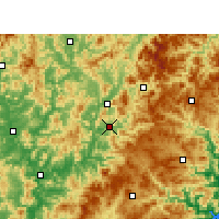 Nearby Forecast Locations - Jian'ou - ������