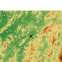 Nearby Forecast Locations - Ruijin - Χάρτης