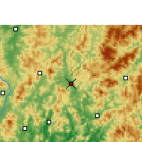 Nearby Forecast Locations - Shanghang - ������
