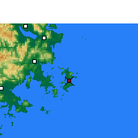 Nearby Forecast Locations - Pingtan - Χάρτης