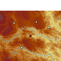 Nearby Forecast Locations - Longlin - Χάρτης