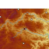 Nearby Forecast Locations - Xilin - Χάρτης