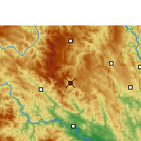 Nearby Forecast Locations - Lingyun - Χάρτης