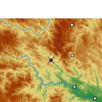 Nearby Forecast Locations - Tianlin - Χάρτης