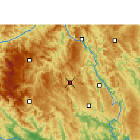 Nearby Forecast Locations - Fengshan - Χάρτης