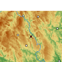 Nearby Forecast Locations - Donglan - Χάρτης
