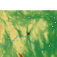 Nearby Forecast Locations - Xincheng/GXA - Χάρτης