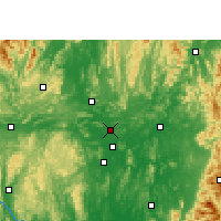 Nearby Forecast Locations - Shatang - Χάρτης