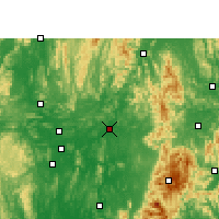 Nearby Forecast Locations - Luan - Χάρτης