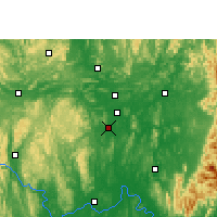 Nearby Forecast Locations - Liujiang - Χάρτης