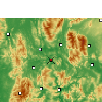 Nearby Forecast Locations - Pingle - Χάρτης