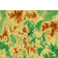 Nearby Forecast Locations - Liannan - Χάρτης
