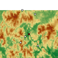 Nearby Forecast Locations - Lianzhou - Χάρτης