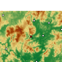 Nearby Forecast Locations - Ruyuan - Χάρτης