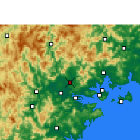 Nearby Forecast Locations - Changtai - Χάρτης