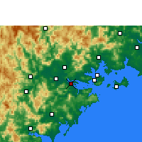 Nearby Forecast Locations - Longhai - Χάρτης