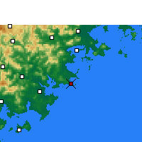 Nearby Forecast Locations - Chongwu - Χάρτης