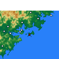 Nearby Forecast Locations - Jinshan/FUJ - ������
