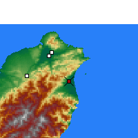 Nearby Forecast Locations - Yilan - Χάρτης