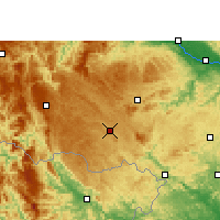 Nearby Forecast Locations - Jingxi - Χάρτης