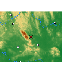 Nearby Forecast Locations - Shanglin - Χάρτης