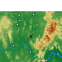 Nearby Forecast Locations - Xiangzhou - Χάρτης