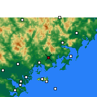 Nearby Forecast Locations - Zhao'an - ������