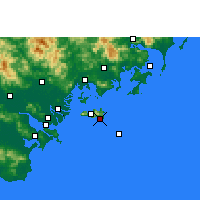 Nearby Forecast Locations - Yunao - Χάρτης
