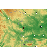 Nearby Forecast Locations - Longzhou - Χάρτης