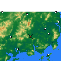 Nearby Forecast Locations - Enping - Χάρτης