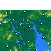 Nearby Forecast Locations - Shunde - Χάρτης