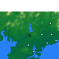 Nearby Forecast Locations - Lianjiang - Χάρτης
