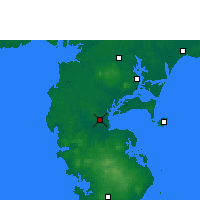 Nearby Forecast Locations - Haikang - Χάρτης